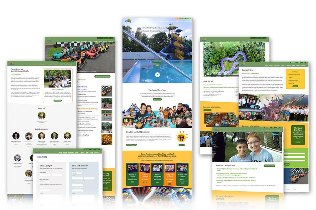 Camp Romimu Summer Camp website