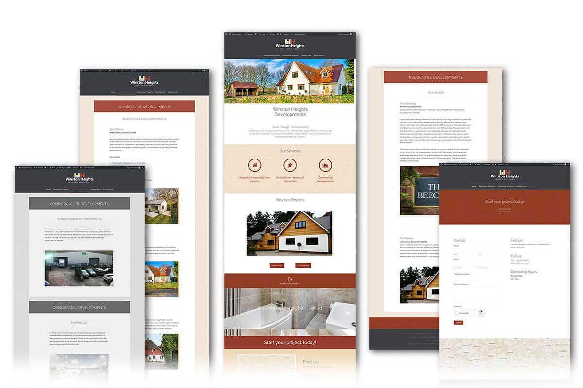 Winston Heights website