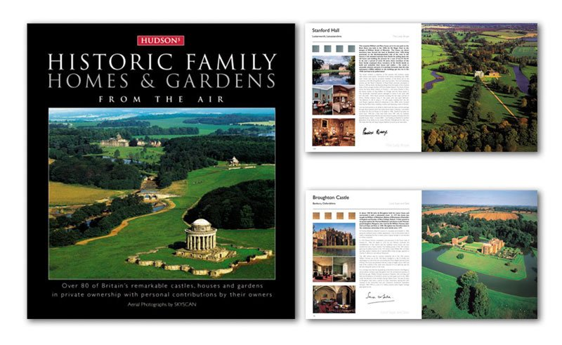 Hudson's Homes and Gardens from the Air hardback book