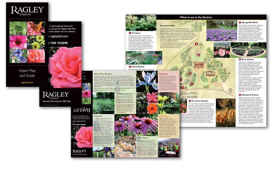 Ragley Garden leaflet