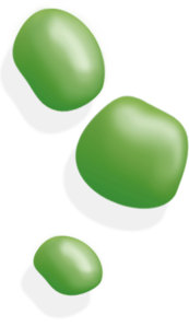 Green blobs